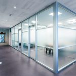 glas cassette systeemwand